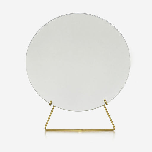 Brass standing mirror S - Tea and Kate