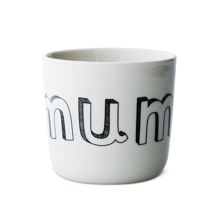 Liebe Porcelain mug mum/dad/me/you/sister/brother - Tea and Kate - Liebe - 4