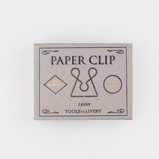 Brass paper clips McGill WAS £12 - Tea and Kate