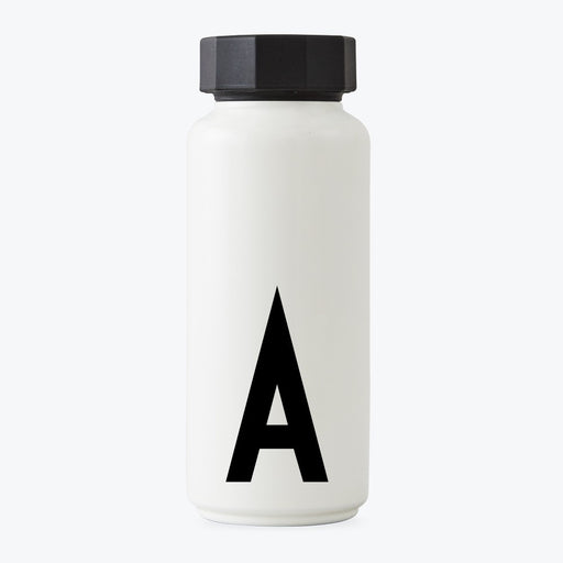 Design Letters Thermos Bottle A to Z - Tea and Kate
