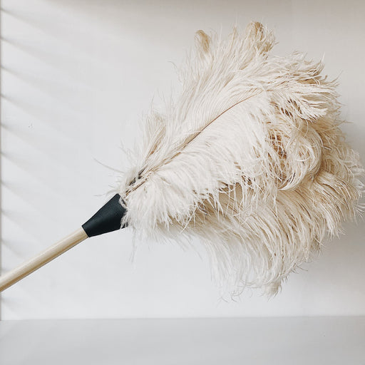 ostrich feather duster - Tea and Kate