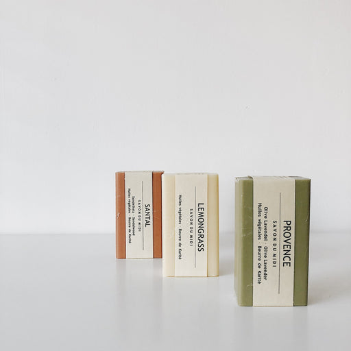 NATURAL SOAP SANTAL, LEMONGRASS, PROVENCE