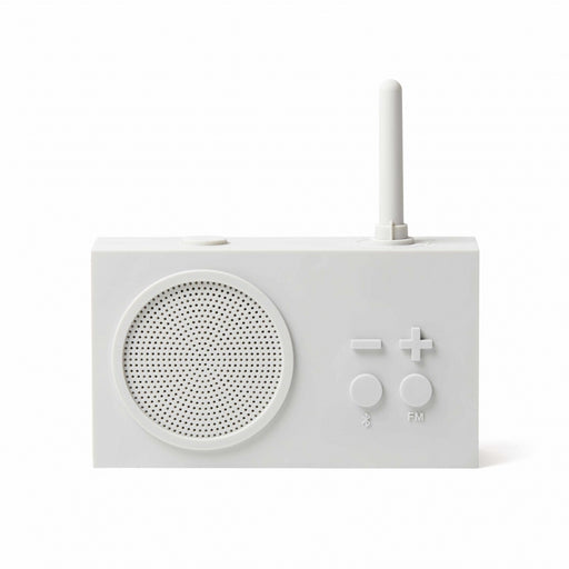 TYKHO 3 FM Radio + Bluetooth Speaker OFF WHITE