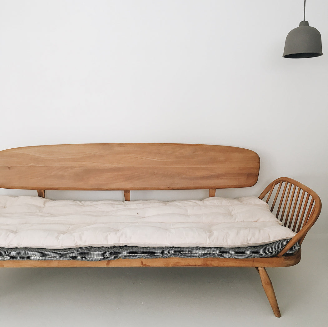 vintage ercol studio couch sofa daybed