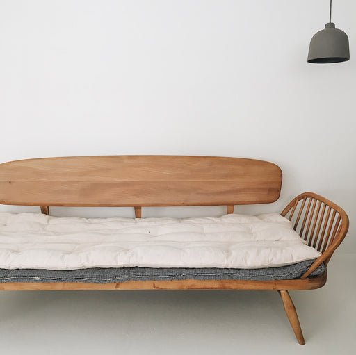 Vintage Ercol Studio couch sofa daybed - Tea and Kate