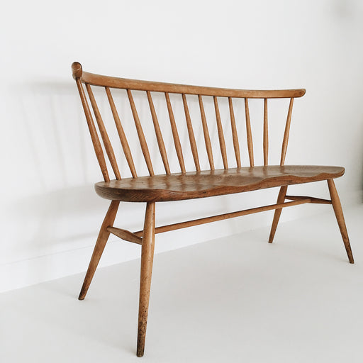 Vintage Ercol love seat - Tea and Kate