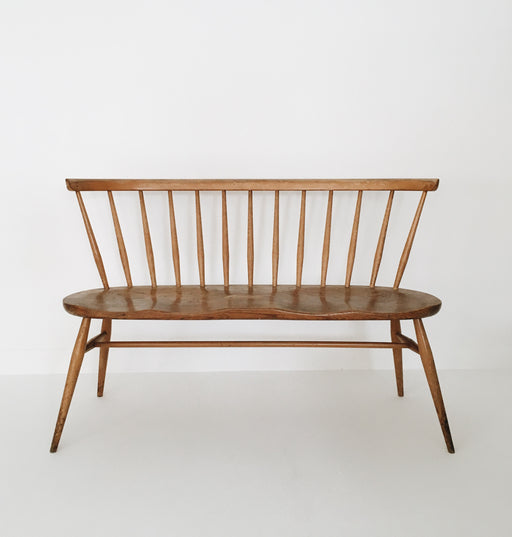 Vintage Ercol love seat rare early 13 spoke model was £895 - Tea and Kate