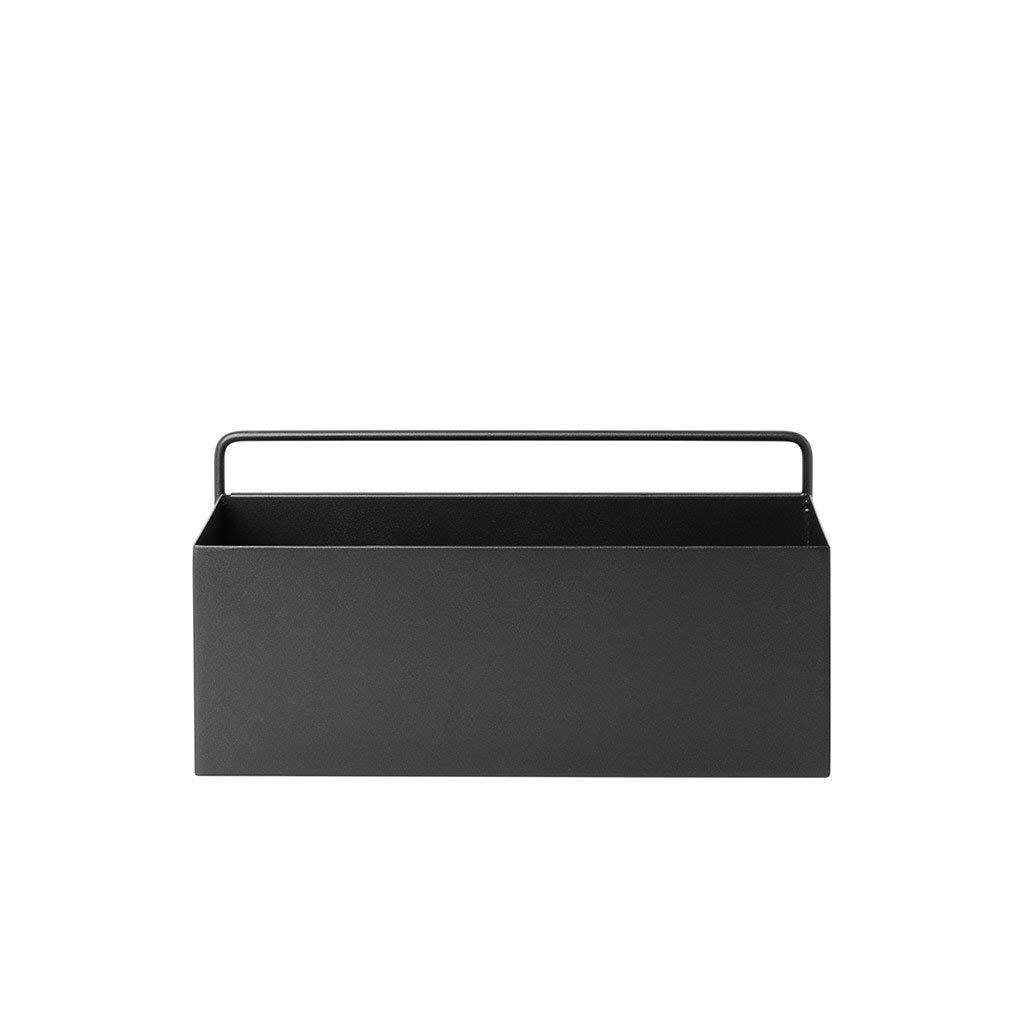 wall box black rectangle