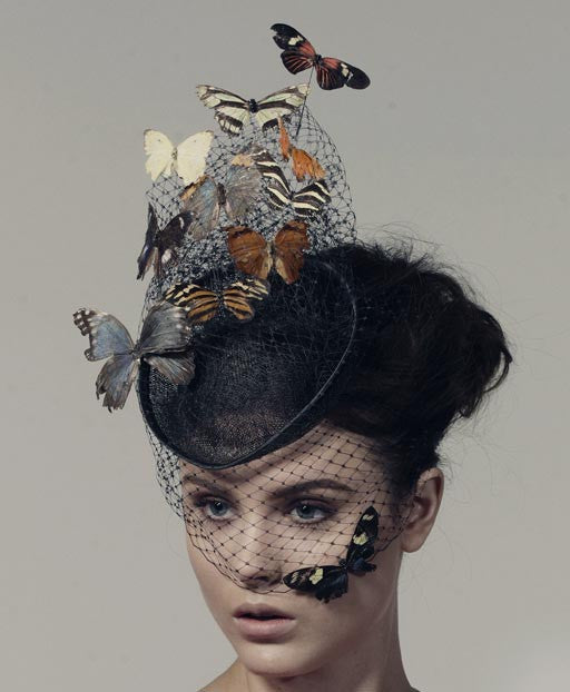 Sahar Freemantle leads a creative and quirky creative millinery workshop for London Craft Club where you can make a sinamay fascinator