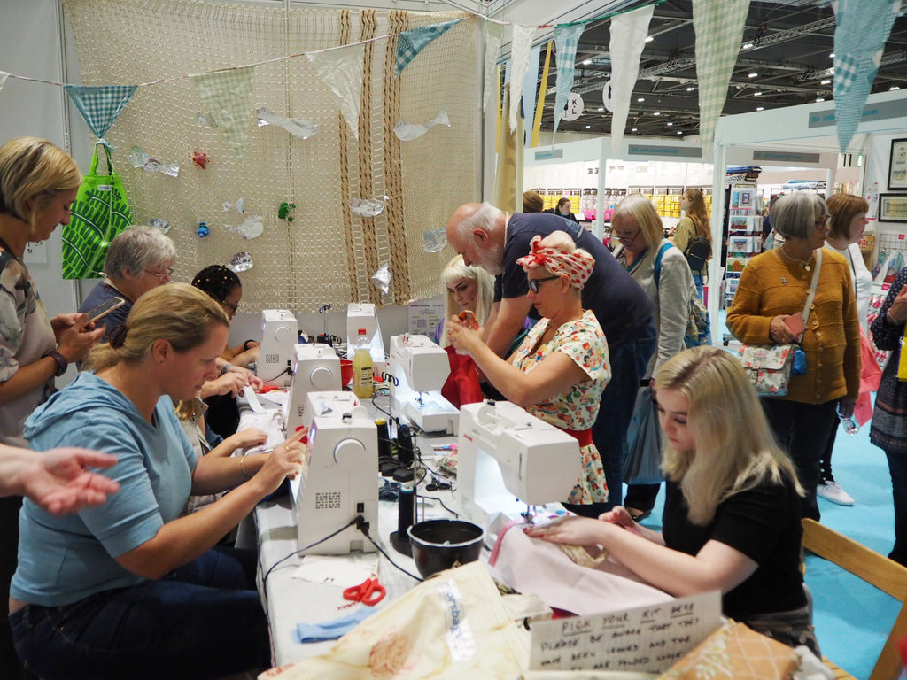 Brush up your sewing skills at the Sewing Bee Live workshops