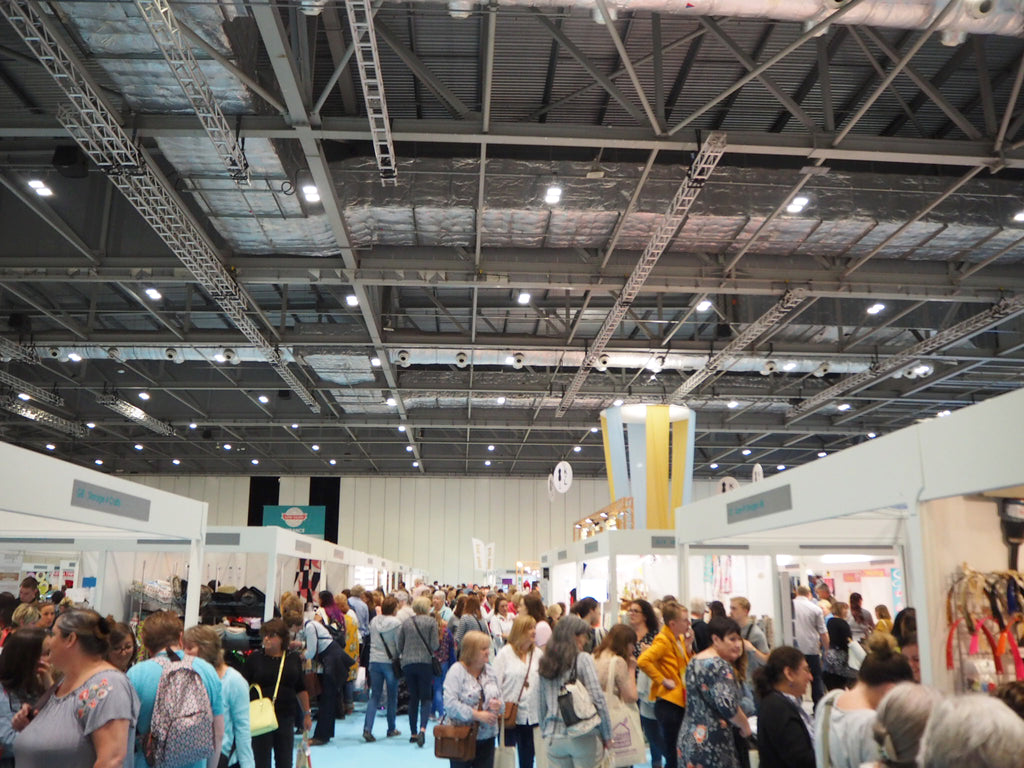 Zoe reviews the Handmade Fair and Sewing Bee Live