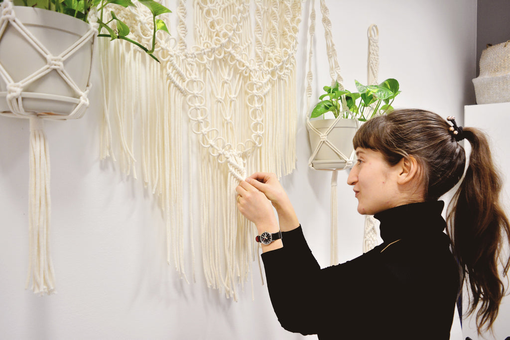 Collaborative macrame