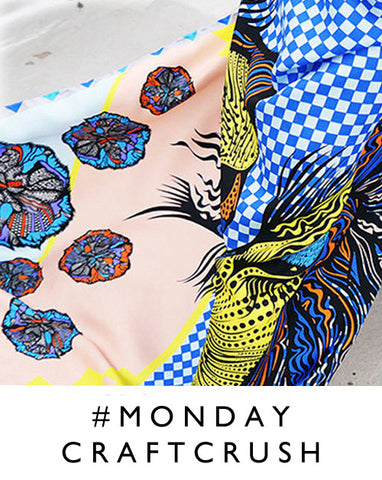 London Craft Club shares #mondaycraftcrush each week, find out who we love