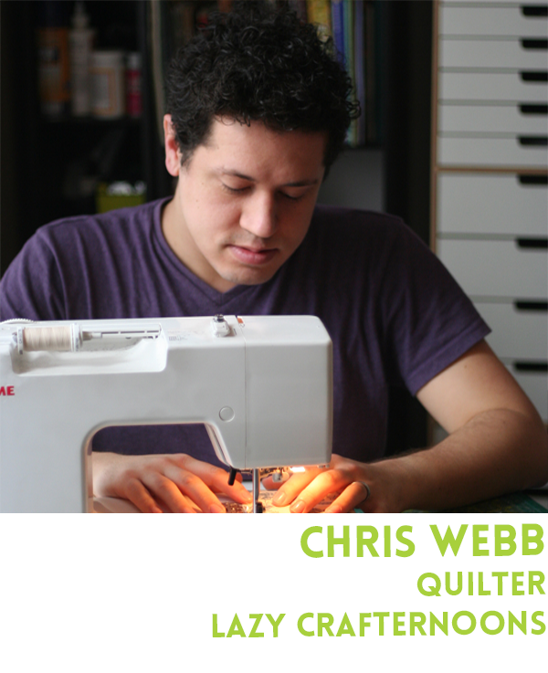 Learn to create stunning quilted projects at a workshop with Chris Webb