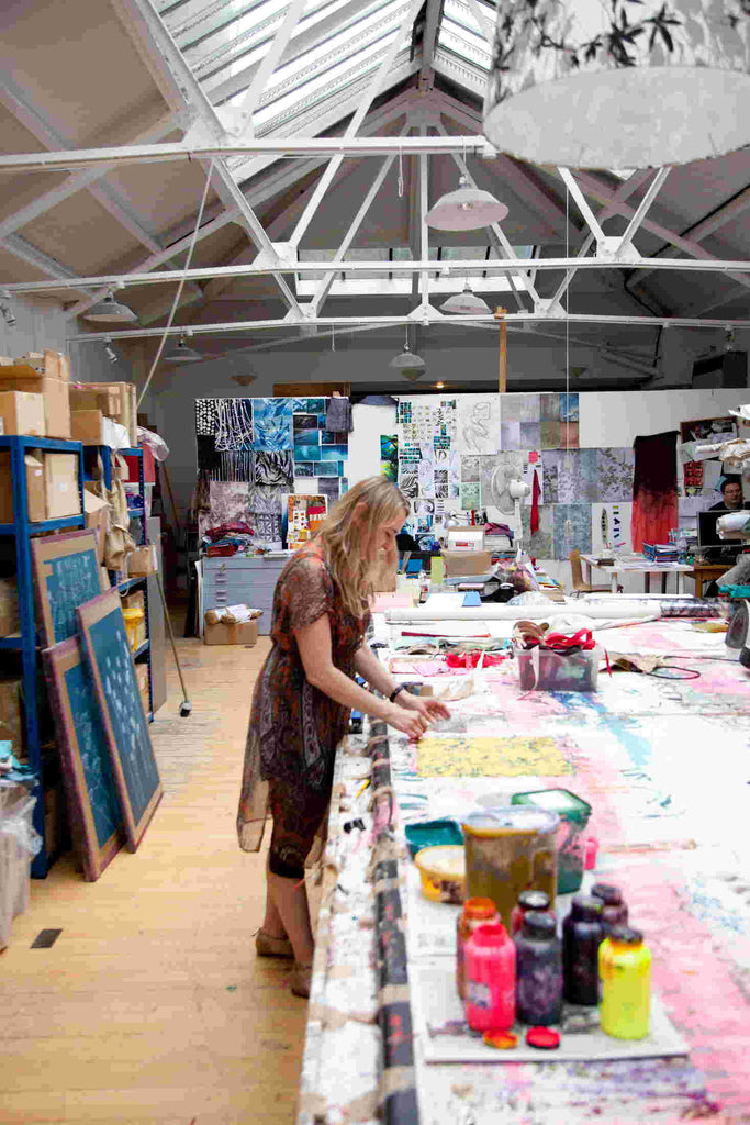 Clarissa Hulse studio
