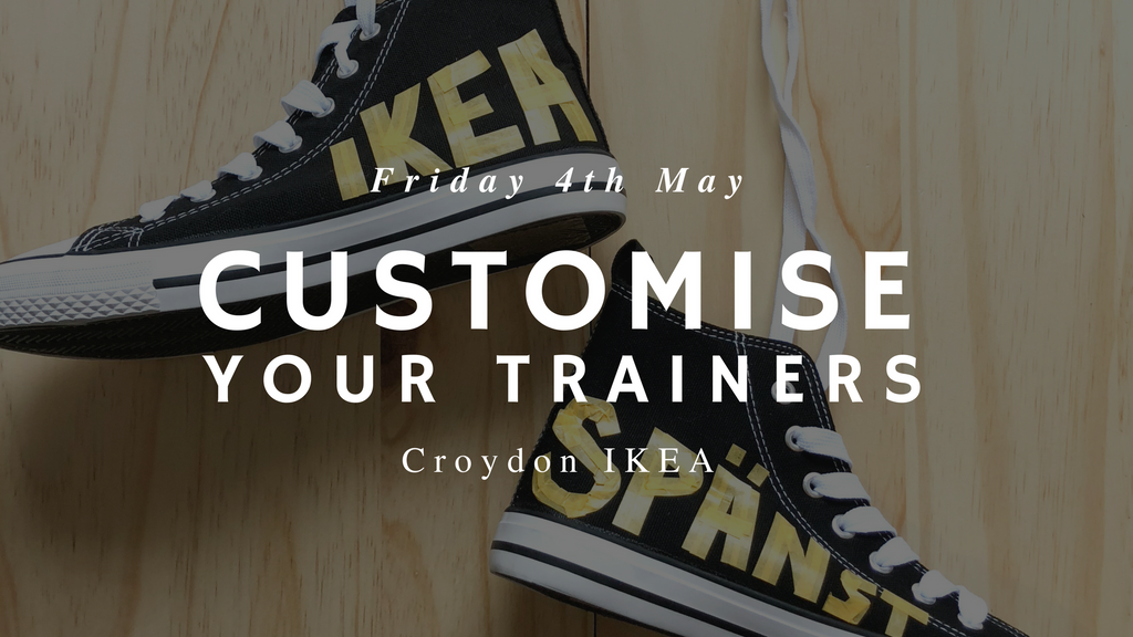 Customise your trainers