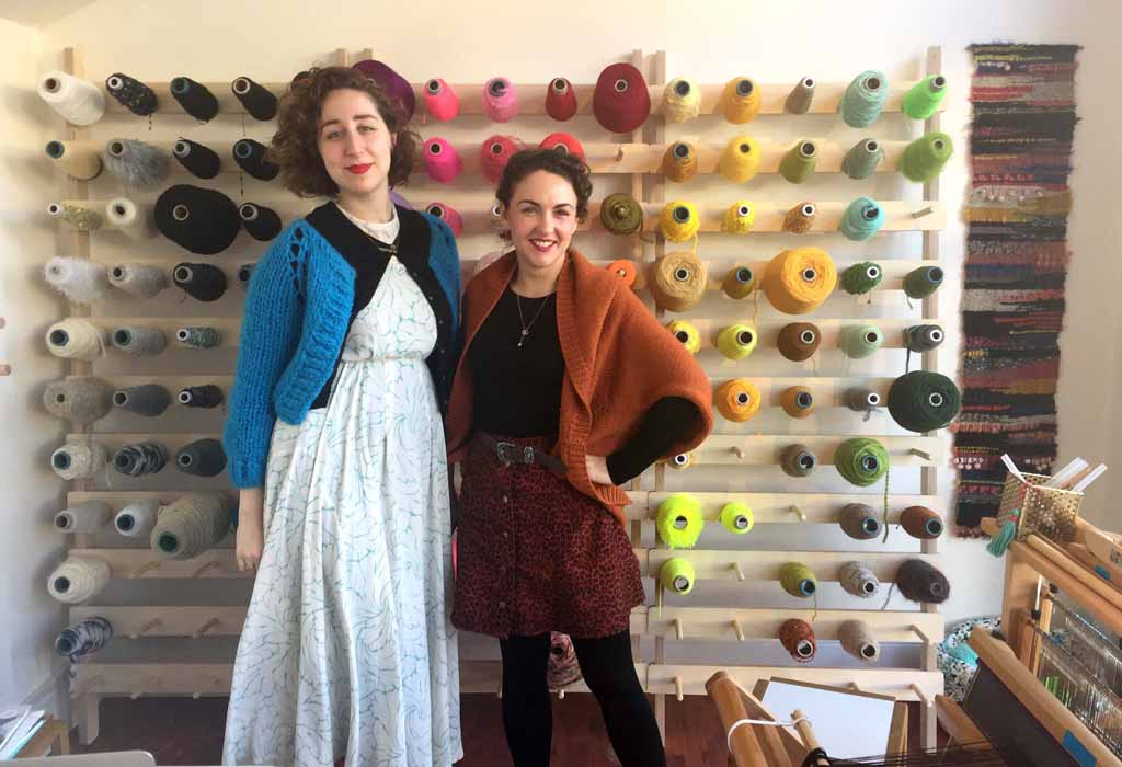 Brooke and Francesca of the London Loom are London Craft Club's new favourite ace crafty creative weaving ladies!