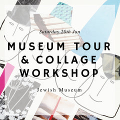 Collage workshop with Gabriela Szulman and London Craft Club at the Jewish Museum