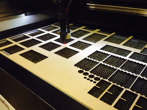 Laser cutting for crafters