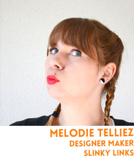 Melodie Telliez is a homeware designer and metalworker