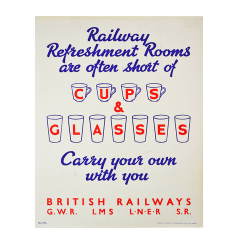 Railway Refreshment Rooms Twentieth Century Posters