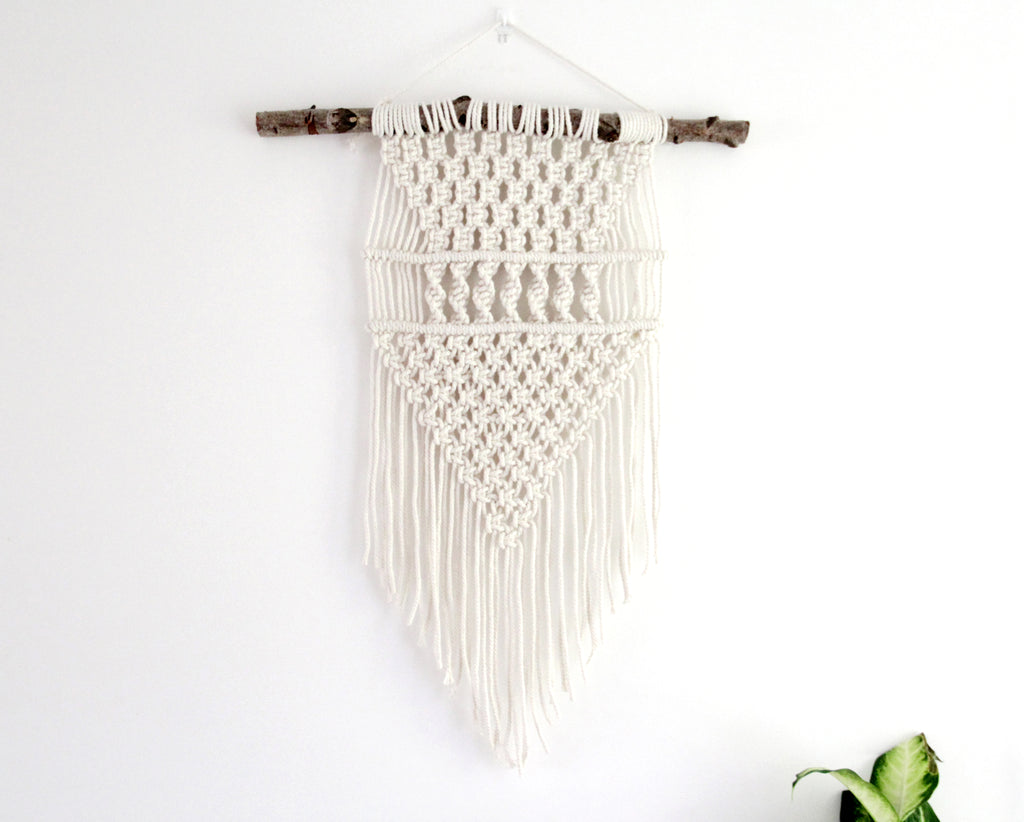 Unleash your creativity and learn to craft bohemian macrame wall decor.