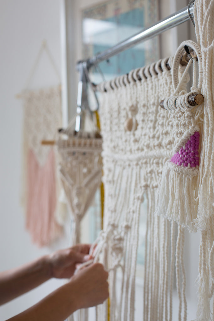 Macrame is a contemporary craft that you can learn to create beautiful home decor.