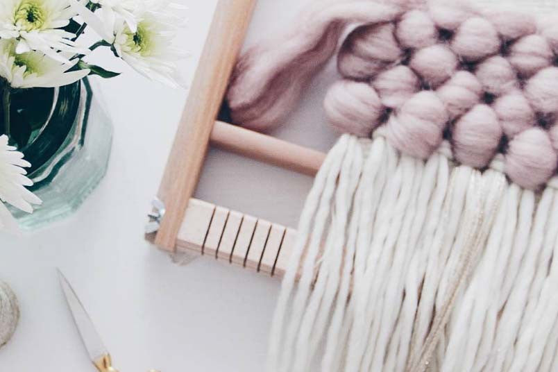 Tent Living macrame workshops with London Craft Club are beautiful and chic