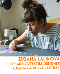 Zuzana Lalikova is an embroidery and textiles expert