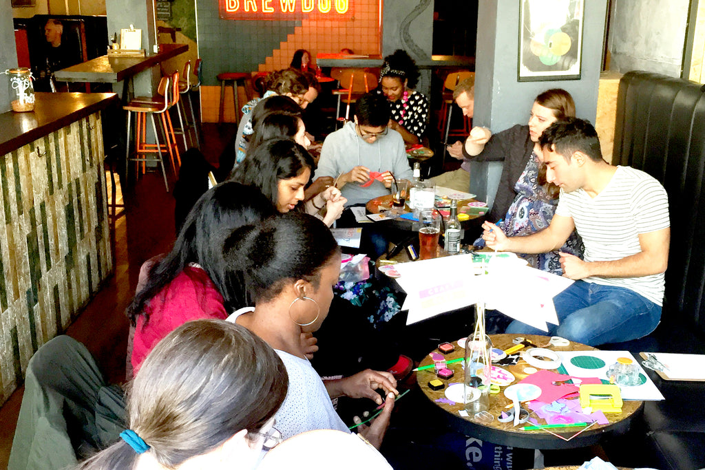 London Craft Club's regular craft meetups are a great way to make crafty friends over coffee or cocktails