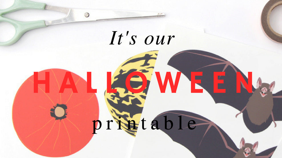 Halloween printables for grownups