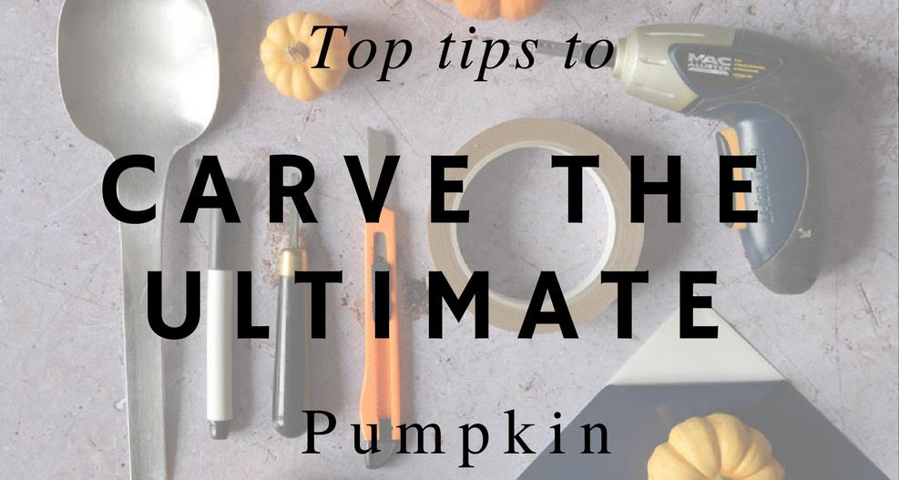 Carve the ultimate Halloween pumpkin