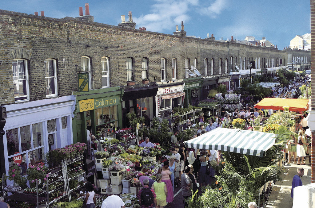 London Craft Club highly recommends Columbia Road market for great crafty and design shopping and making