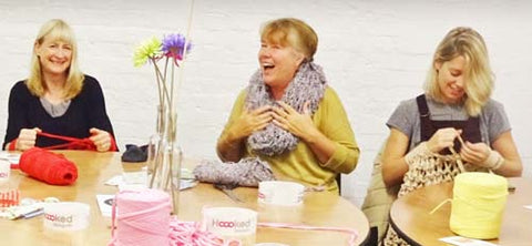 London Craft Club knitters