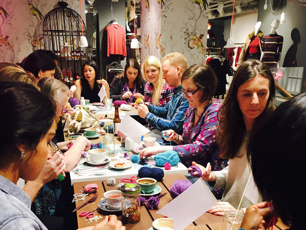 Craft Life is a social hangout in real life for crafters in London
