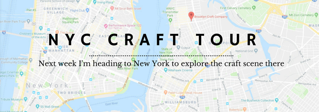 London Craft Club goes to New York!