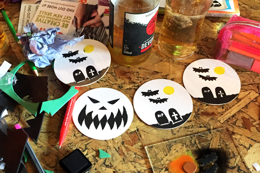Spooky craft at Brewdog!