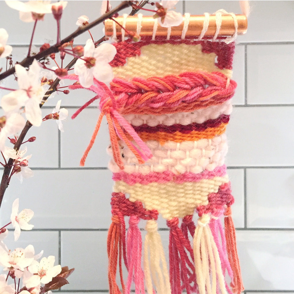 London Craft Club's Sonia keeps making things in pink since the blossom arrived this March adn April