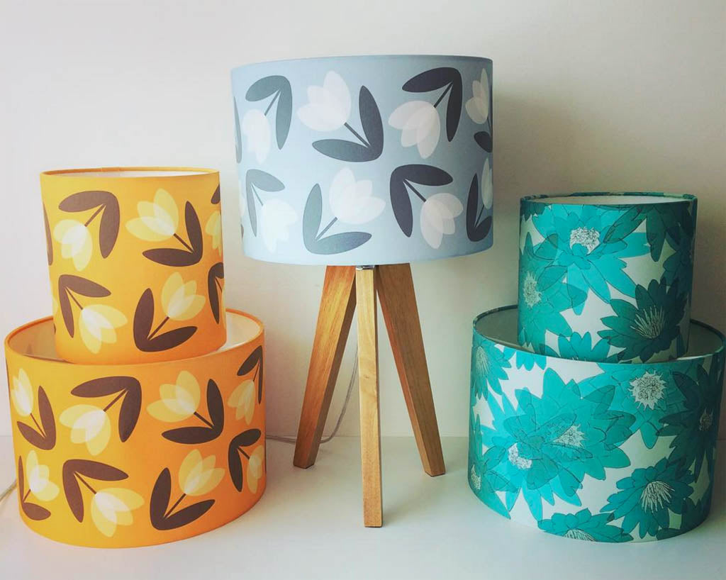 Meet and Make with the Designer these beautiful creative lampshades and light up your creative life