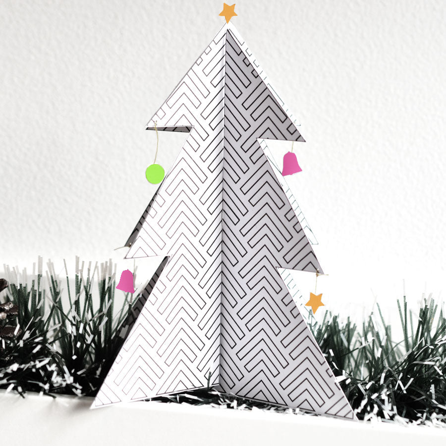 Christmas Tree Free Printable By Hannah From Utensils0