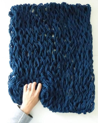 Fast and Fun Arm Knitting