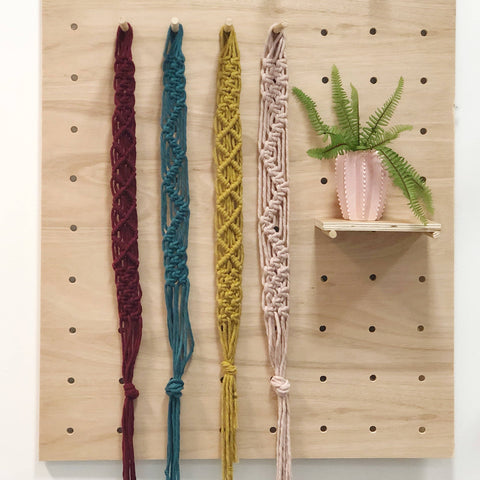 Make a Macrame Headband/Belt - Mini Workshop