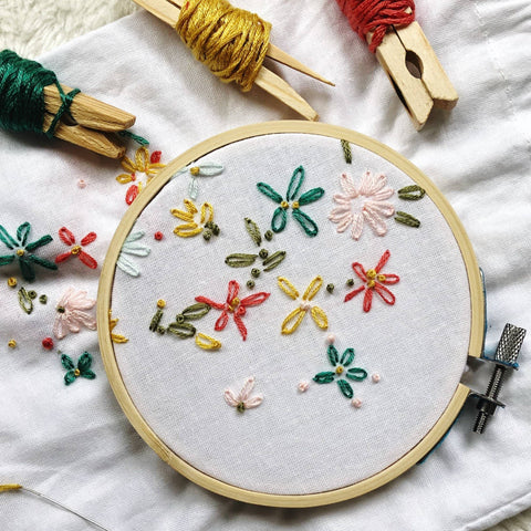 Floral Embroidery - Mini Workshop