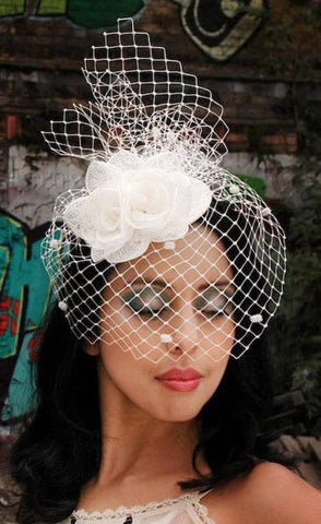 Design and Make a Sinamay Flower Fascinator