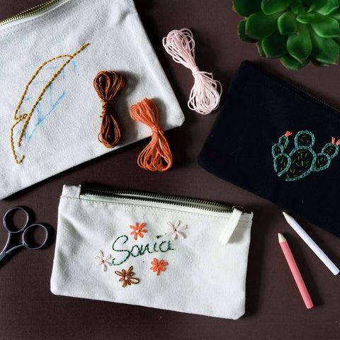 Beginners Embroidery - Making Christmas Gifts
