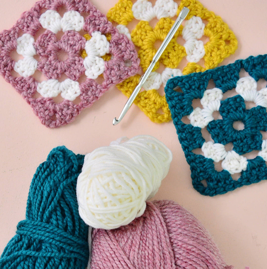 Anyone Can Crochet: Granny Squares