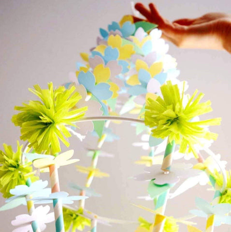 Parent and Tween! Make Glorious Paper Chandeliers Together!