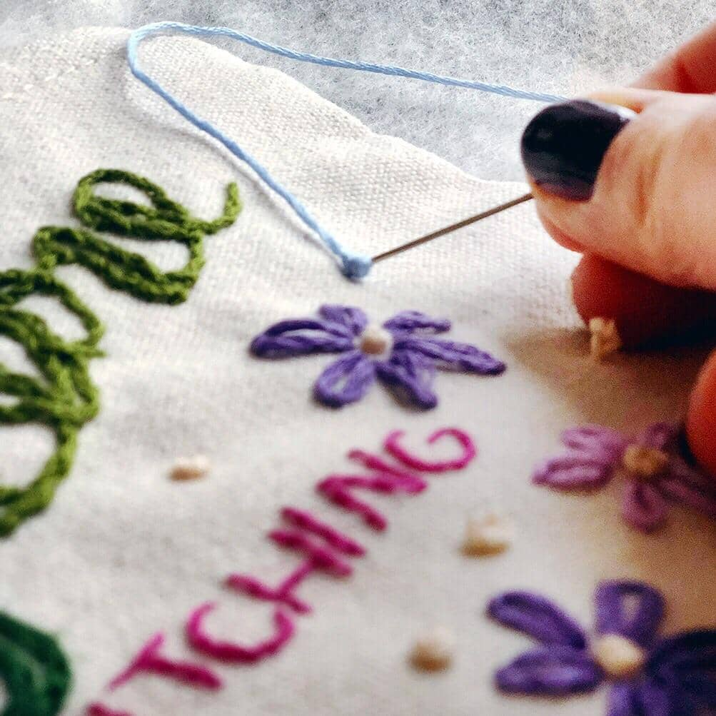 Stitching for Self-Care - Mindful Embroidery