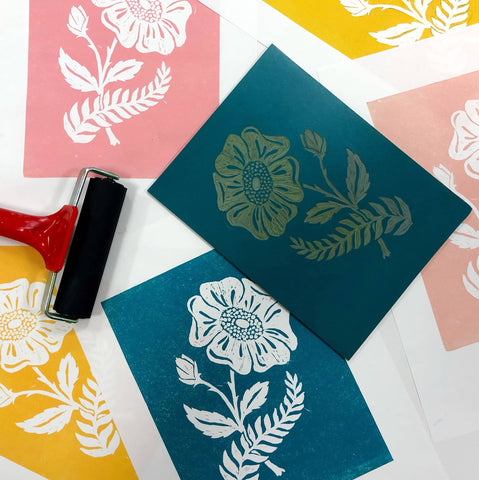 Easy-Cut Lino Printing - Even If You Can't Draw!