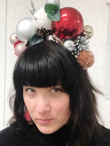Make a Christmas Sparkle Crown